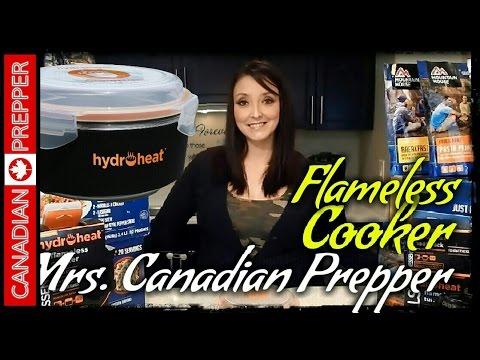 Hydroheat Flameless Cooker w/ Mrs. Canadian Prepper