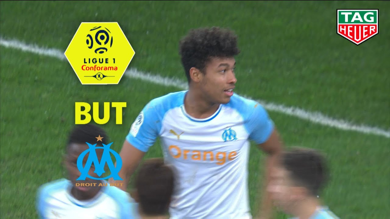 But Boubacar KAMARA (42') / Olympique de Marseille - Girondins de Bordeaux (1-0) (OM-GdB)/ 2018-19