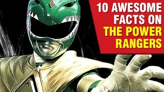 10 Interesting Power Rangers Facts!