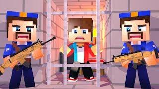 Сериал побег из тюрьмы в майнкрафт! Я снова попал на решётку?! #3 серия