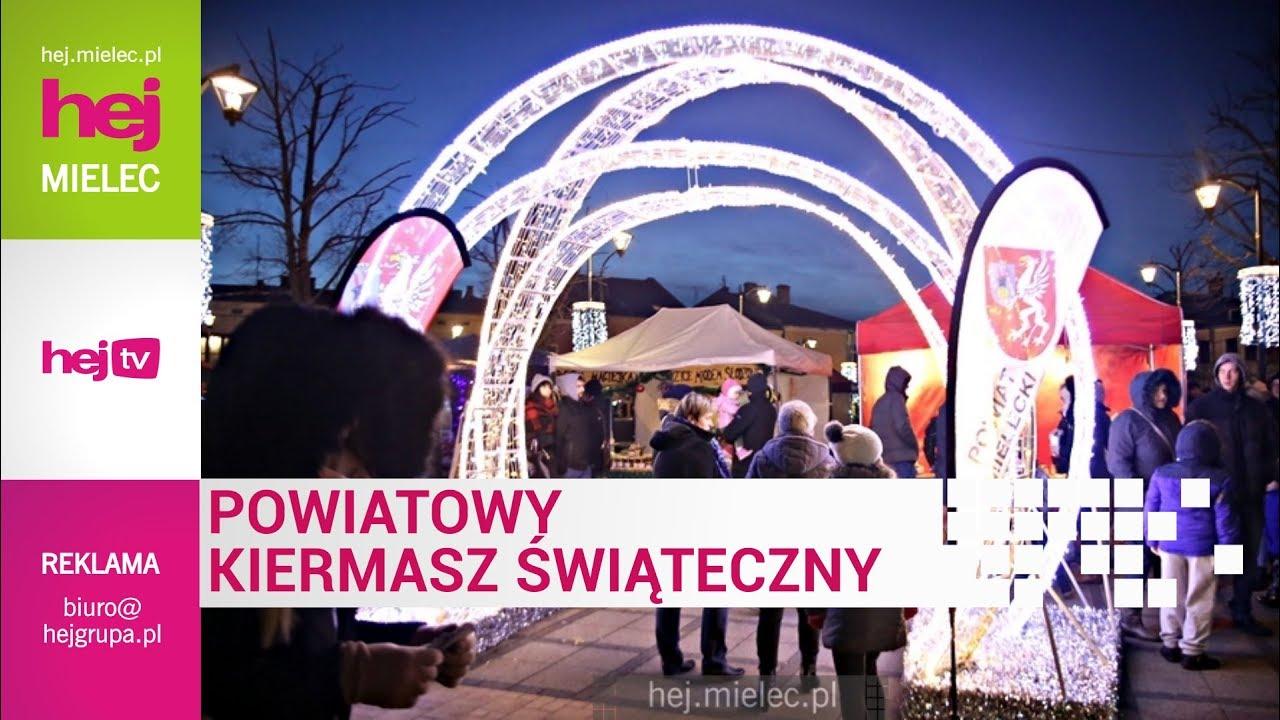 hej.mielec.pl TV: Powiatowy Jarmark Świąteczny Mielec 2017
