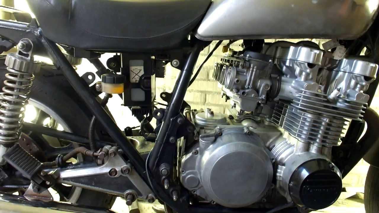 medium resolution of 1982 kawasaki 750 ltd rebuild part 19 concealing the wiring