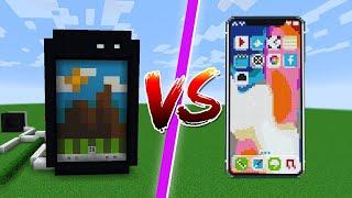 CASA iPHONE vs CASA ANDROID   BATALHA DE CASAS COM JAZZGHOST