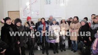 Песенный флешмоб в городе Покровске. 11.12.2016