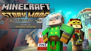 Minecraft Story Mode - PS4 Game Part 4