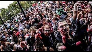 Marcha zombie! México 2017 parte 2