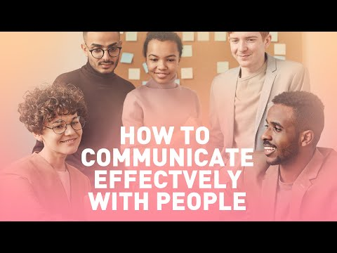 How to Communicate Effectively with People (Heart to Heart Talk)