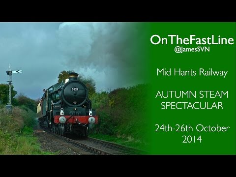 Mid Hants Railway - Autumn Steam Spectacular 2014 (ft. 5029, 6960, 4270 and 1450)