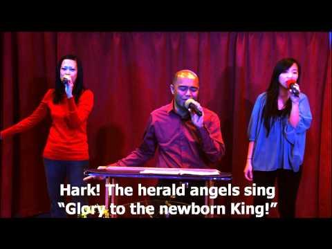 Hark The Herald Angels sing/Gita Sorga Bergema, worship led by Efraim Tamba