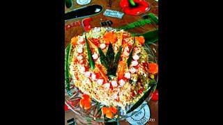 Крабы, салат из крабовых палочек