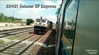 22421 Salasar SF Express at decent speed