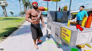 GTA 5 REAL LIFE MOD SS8 #24 SELLING HOT DOGS🌭