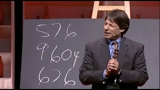 Faster than a calculator: Arthur Benjamin at TEDxOxford