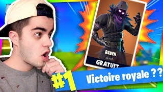 FORTNITE - IF I DON't DO TOP 1, I OFFER YOU THE CORBEAU SKIN!!