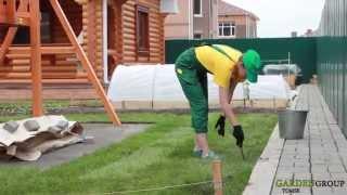 Рулонный газон(Как сделать хороший газон у себя на участке? Все о рулонном газоне. Рекомендации от компании Garden Group. Ландшаф..., 2015-09-16T08:36:13.000Z)