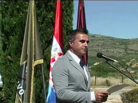 LIPANJSKE ZORE - Govor Generala Zbora HVO-a Stanka Sopte Baje, Mostar 9. Lipnja 2017.