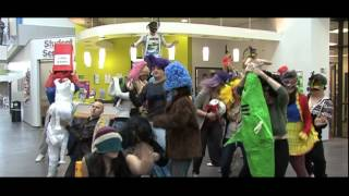 The Harlem Shake East Durham College Edition, Peterlee, County Durham.