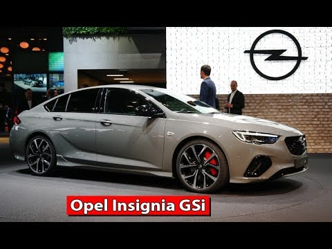 2018 opel insignia gsi walkaround exterior interior. Black Bedroom Furniture Sets. Home Design Ideas