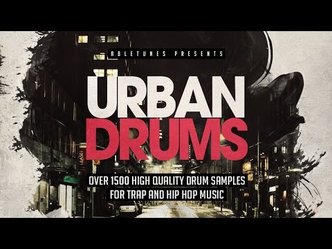 Urban Drums - 1500+ Trap, Hip-Hop Drum Samples By Abletunes