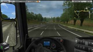 German Truck Simulator - PC Gameplay - 1920x1080 MAXED OUT [HD]