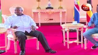 DP Ruto meets President Yoweri Museveni