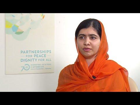 """Malala : """"J'ai demandé à Macron d'investir 300 millions $ dans l'éducation des filles"""""""