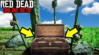 TRIBAL RITUAL TREASURE CHEST FOUND in Red Dead Online! RDR2 Online Money Making Made Easy!