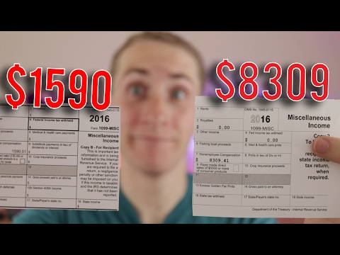 Do Youtubers have to Pay Taxes on the Money they Earn ?!