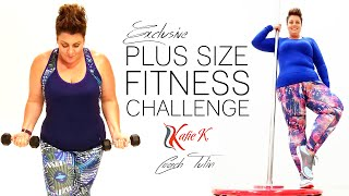 Plus Size Fitness Challenge - Katie K Active and Coach Tulin