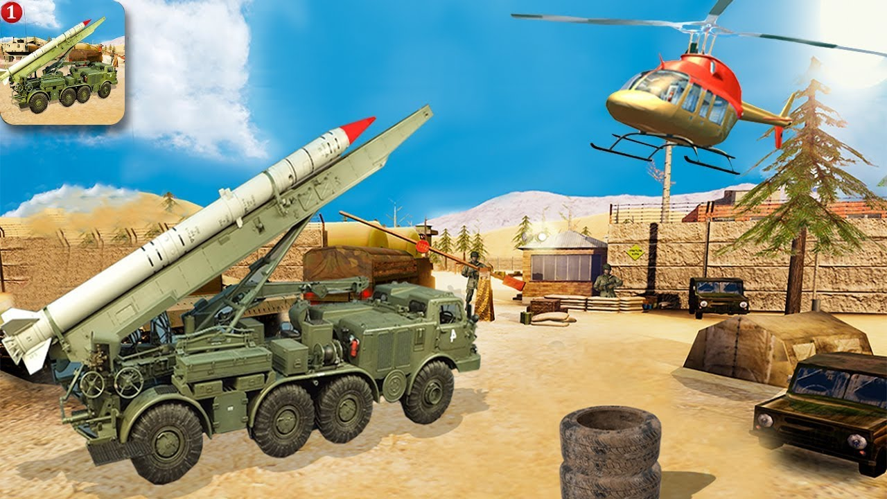 MISSILE ATTACK & ULTIMATE WAR TRUCK GAMES – Walkthrough Gameplay (Android Game)