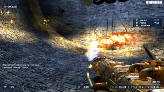 Serious Sam HD: The Second Encounter (PC) Coop Online Gameplay - The Pit (1080 HD)