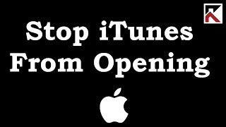 How To Stop Itunes From Opening When You Plug In iPhone or iPad