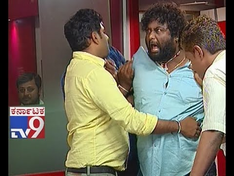 Huccha Venkat Attack Director in Live Discussion,Over 'Huttada Sutta' Item Song Issue