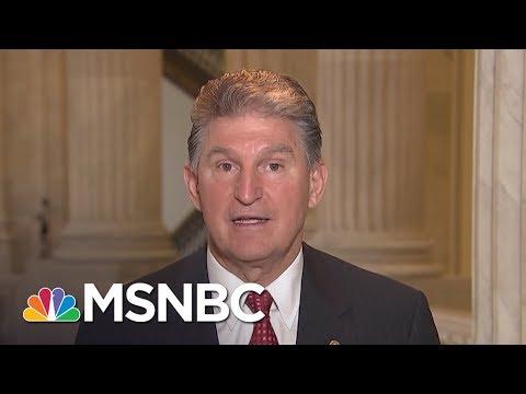 Senator Joe Manchin To GOP Leader Mitch McConnell: 'Work With Us!'   Morning Joe   MSNBC