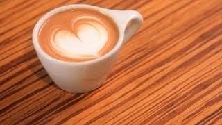 How to Pour a Heart   Latte Art