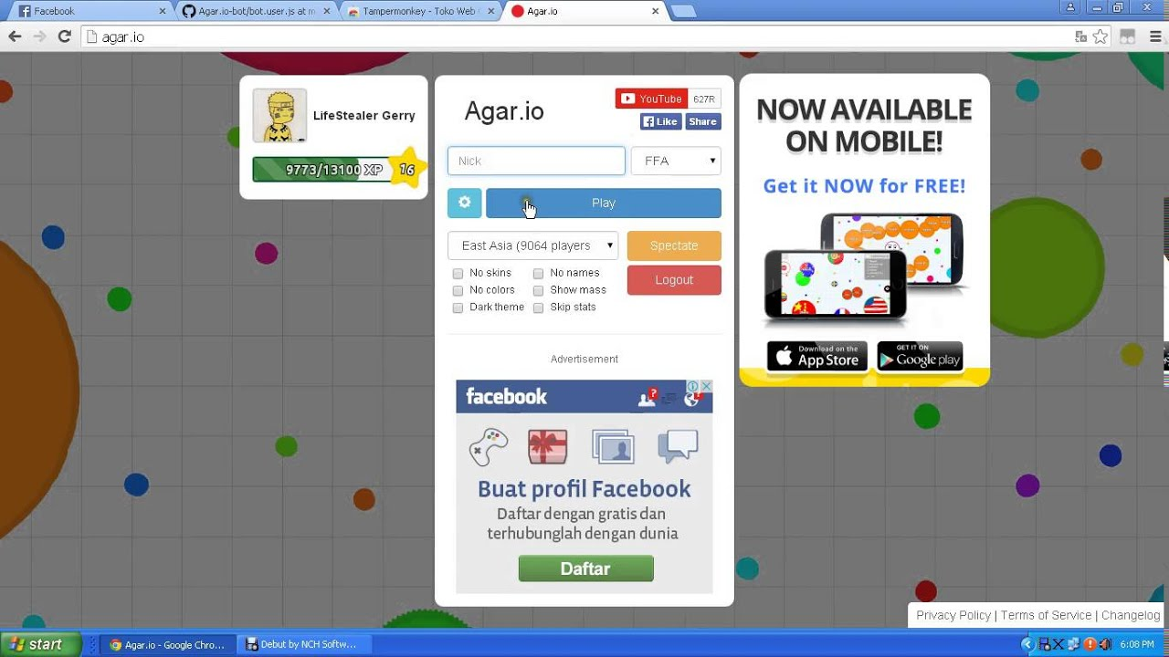 How To Hack Agar io With Tampermonkey