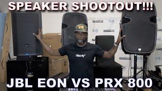 SPEAKER SHOOTOUT! JBL PRX 815 vs EON 515 XT Review. Should you UPGRADE?