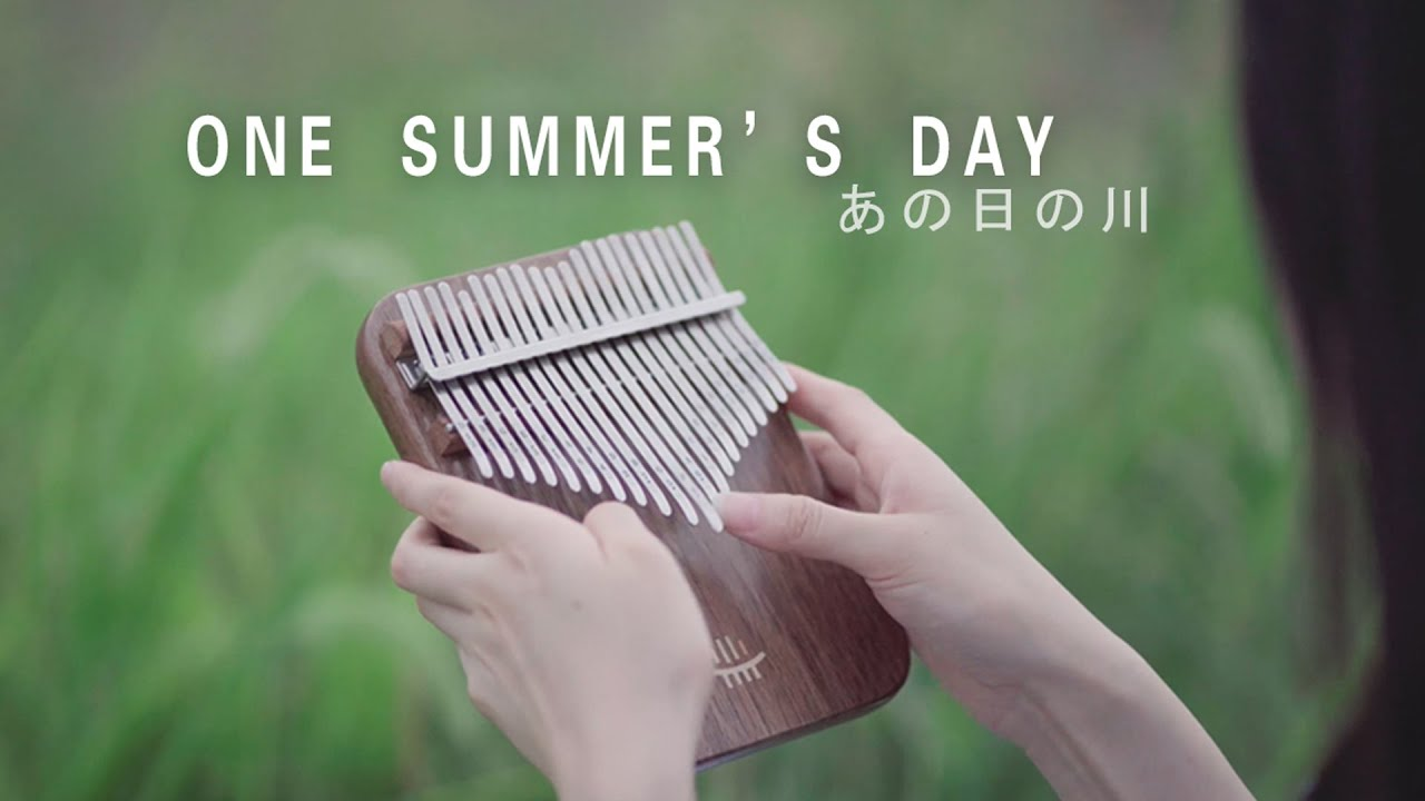Spirited Away - One Summer's Day あの夏へ - Kalimba Cover - April Yang