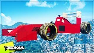 GIANT FORMULA 1 CAR IN GTA 5! (GTA 5)