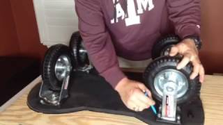 How To Make RTIC YETI Cooler Wheels Kit System EASY & CHEAP