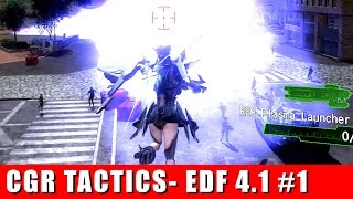 Earth Defense Force 4.1 Mission 1: Reconvene tactics by Classic Game Room