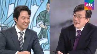 """손석희, 한석규에 """"성우 출신 실감…목소리 정말 좋다"""""""