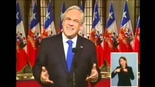 cadena nacional: discurso de sebastian piñera con respecto a las movilizaciones estudiantiles