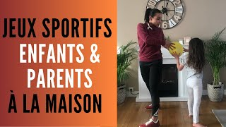 10 Jeux sportifs pour parents et enfants à la maison