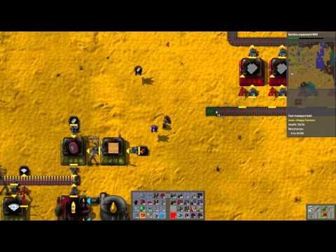 Let's Play Happy Factorio with Bob's Mods - Part 73 Iron Crisis