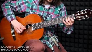 видео Классические гитары Yamaha