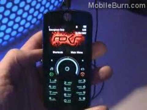 Motorola ROKR E8 and its Morphing Keypad