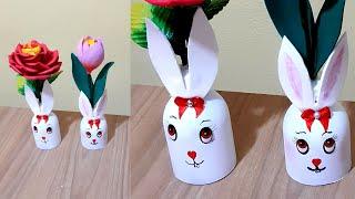 Vasinho e Flor Porta Bombom  Para Páscoa