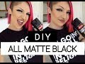 DIY PROJECT   Paint my furniture black with me!