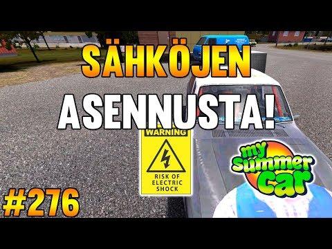 My Summer Car #276   Sähköjen Asennusta!